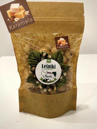 Domači lešnik pražen s karamelo - 100g