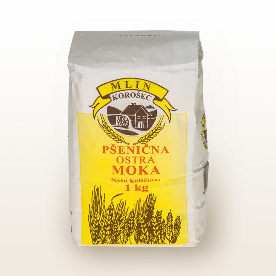 Pšenična ostra moka Mlin Korošec
