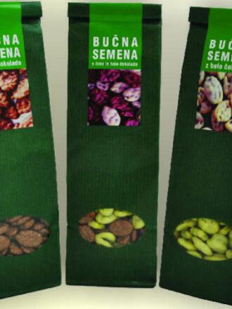 Bučna semena s čokolado
