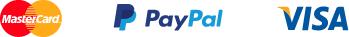 Plačilne kartice: MasterCard, Visa, PayPal